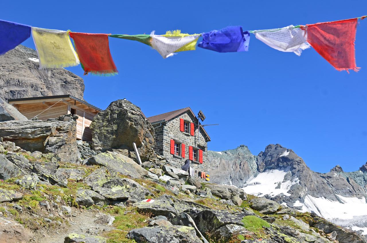 Swiss Mountain Hut