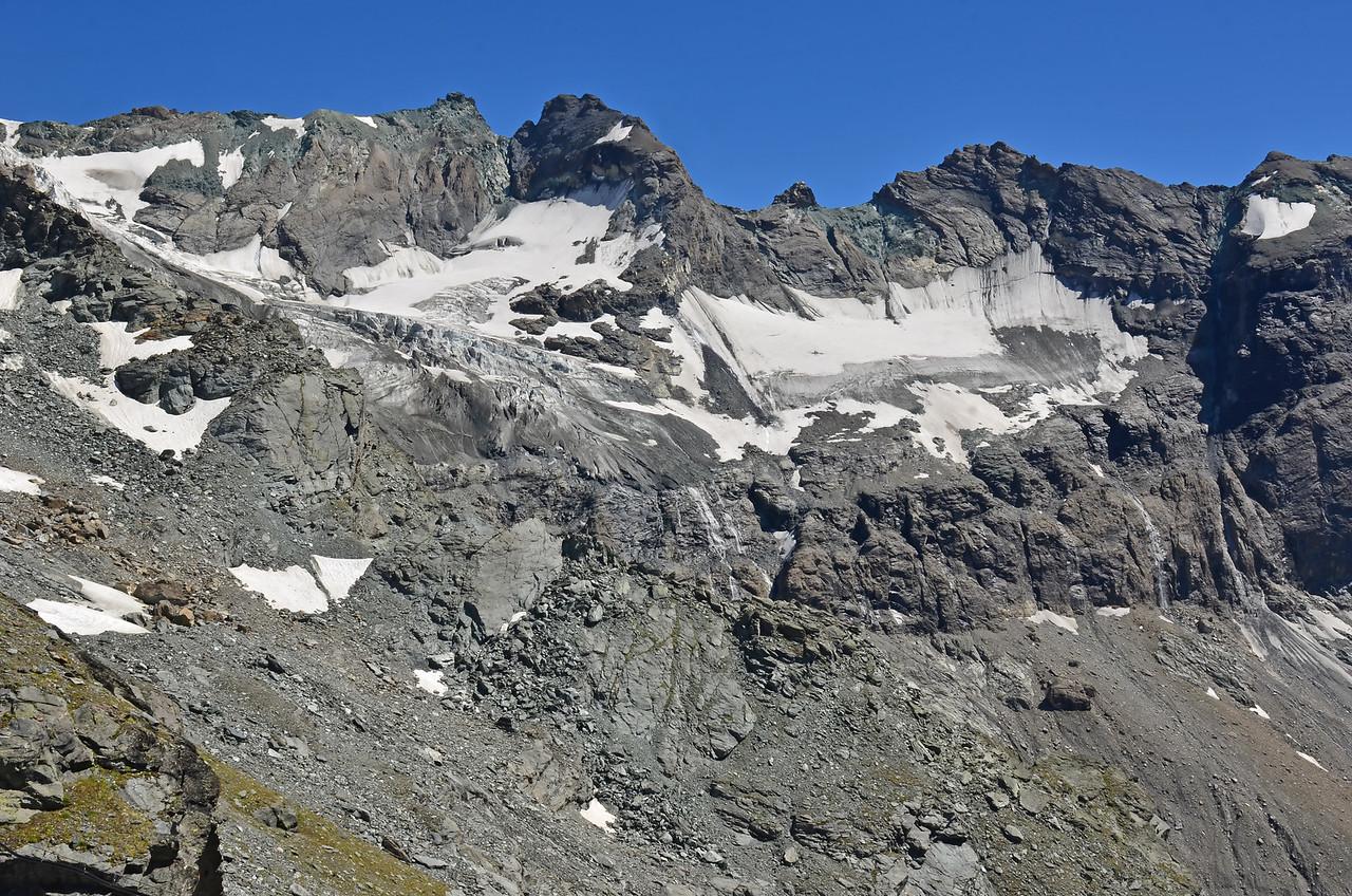 Amiante and the Sonadon Glacier