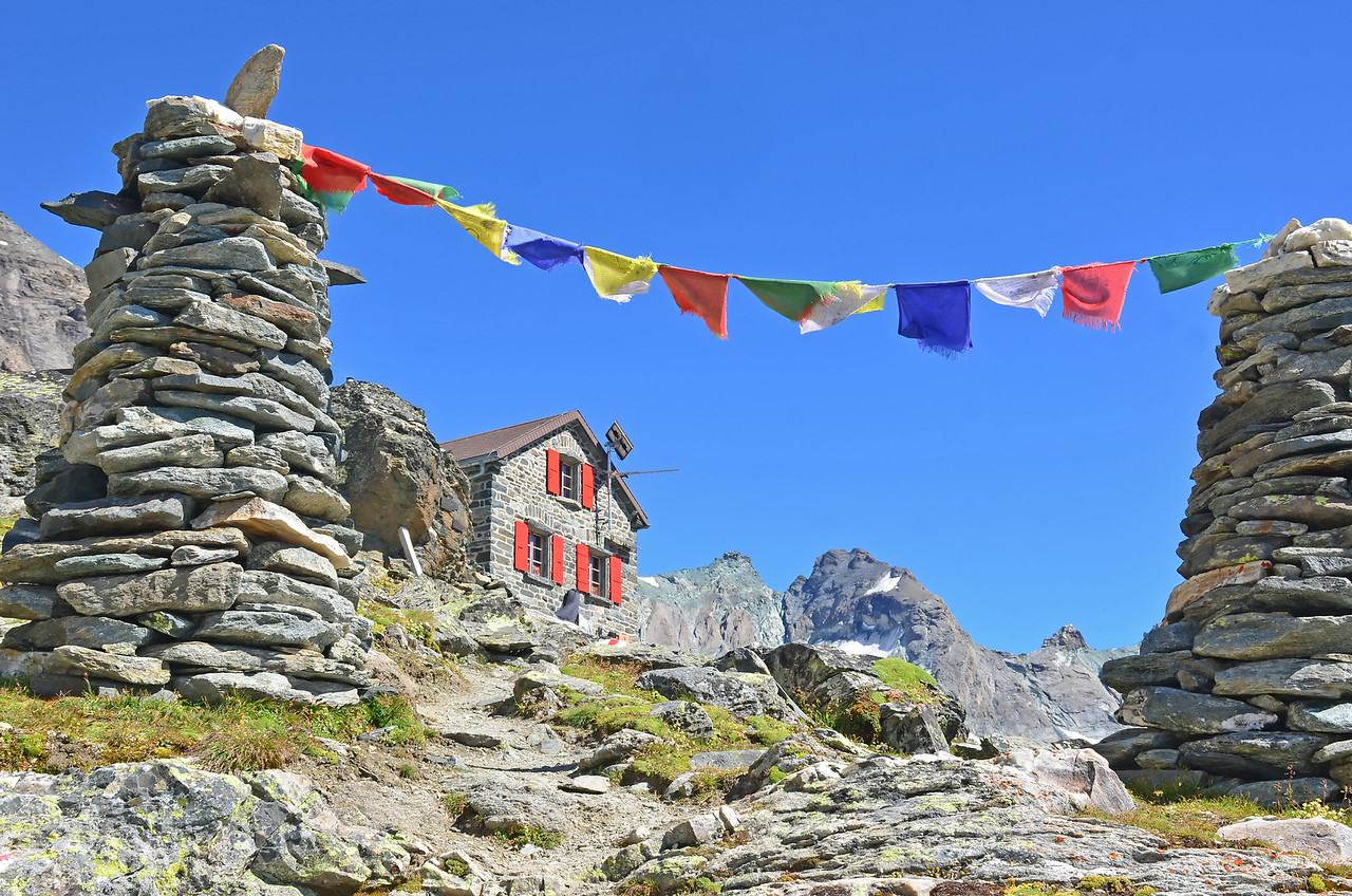 Swiss Mountain Refuge