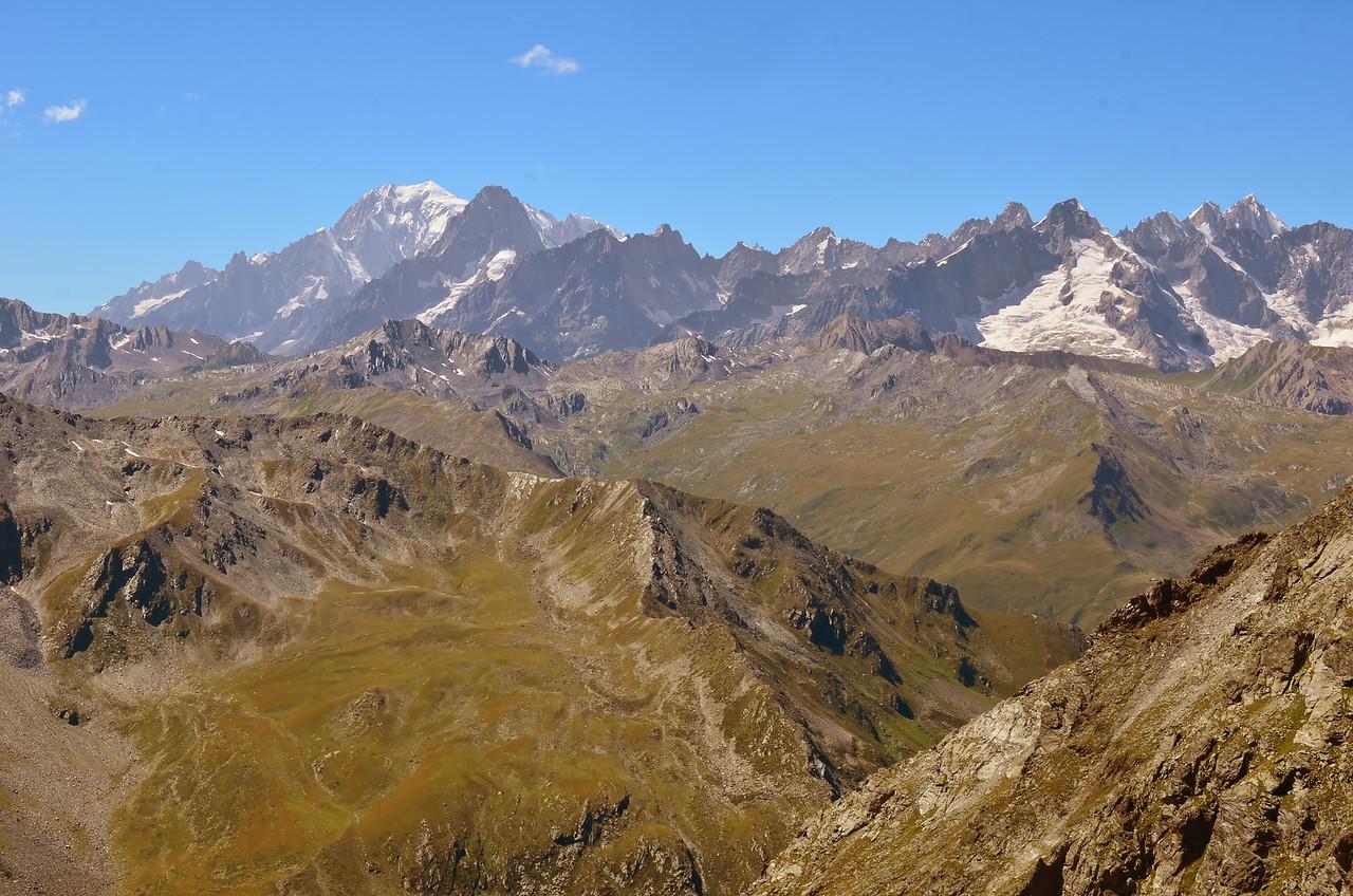 Mont Blanc and Mont Dolent