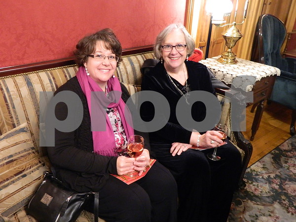 left to right: Amy Champagne and Liz Johnson