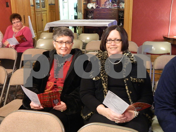 left to right: Carol Deckert and Jodie Janke