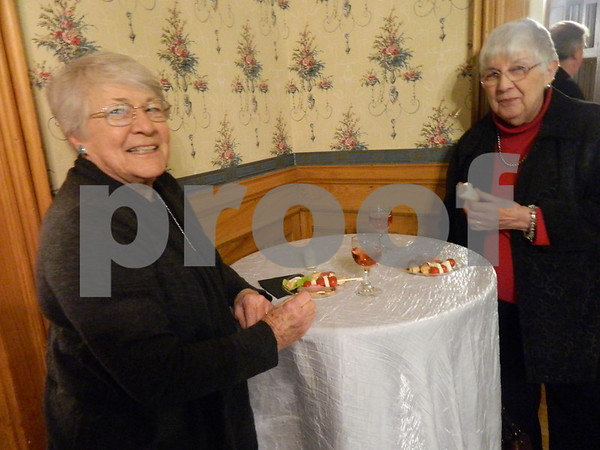 left to right: Connie Schnurr and Joanne Smith