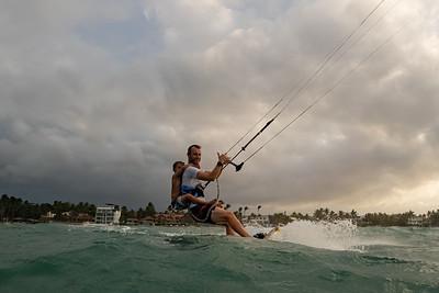 May 2, 2019.  Kite Beach, Cabarete, Dominican Republic