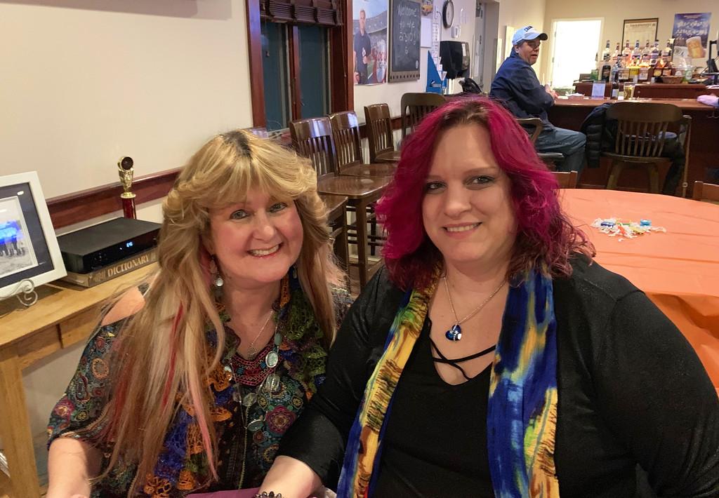 . Dorothy Kozlosky of Lynn and Kimberly Battis of Malden