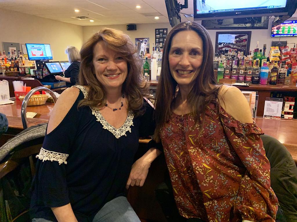 . Laura Rocha of Dracut and Samantha Berard of Methuen