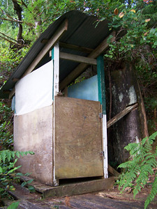 Original outhouse