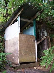 Original outhouse