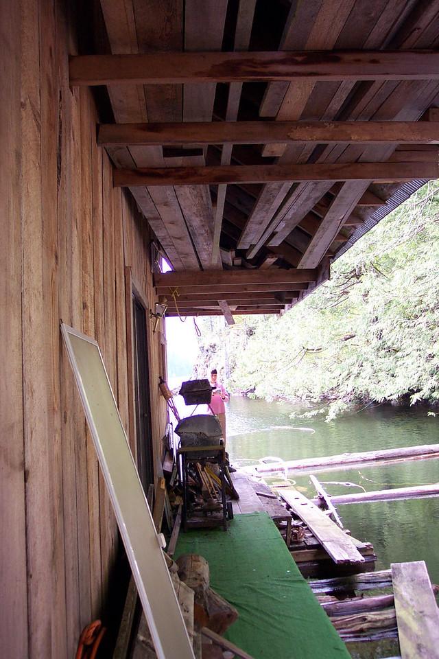 Original rear deck