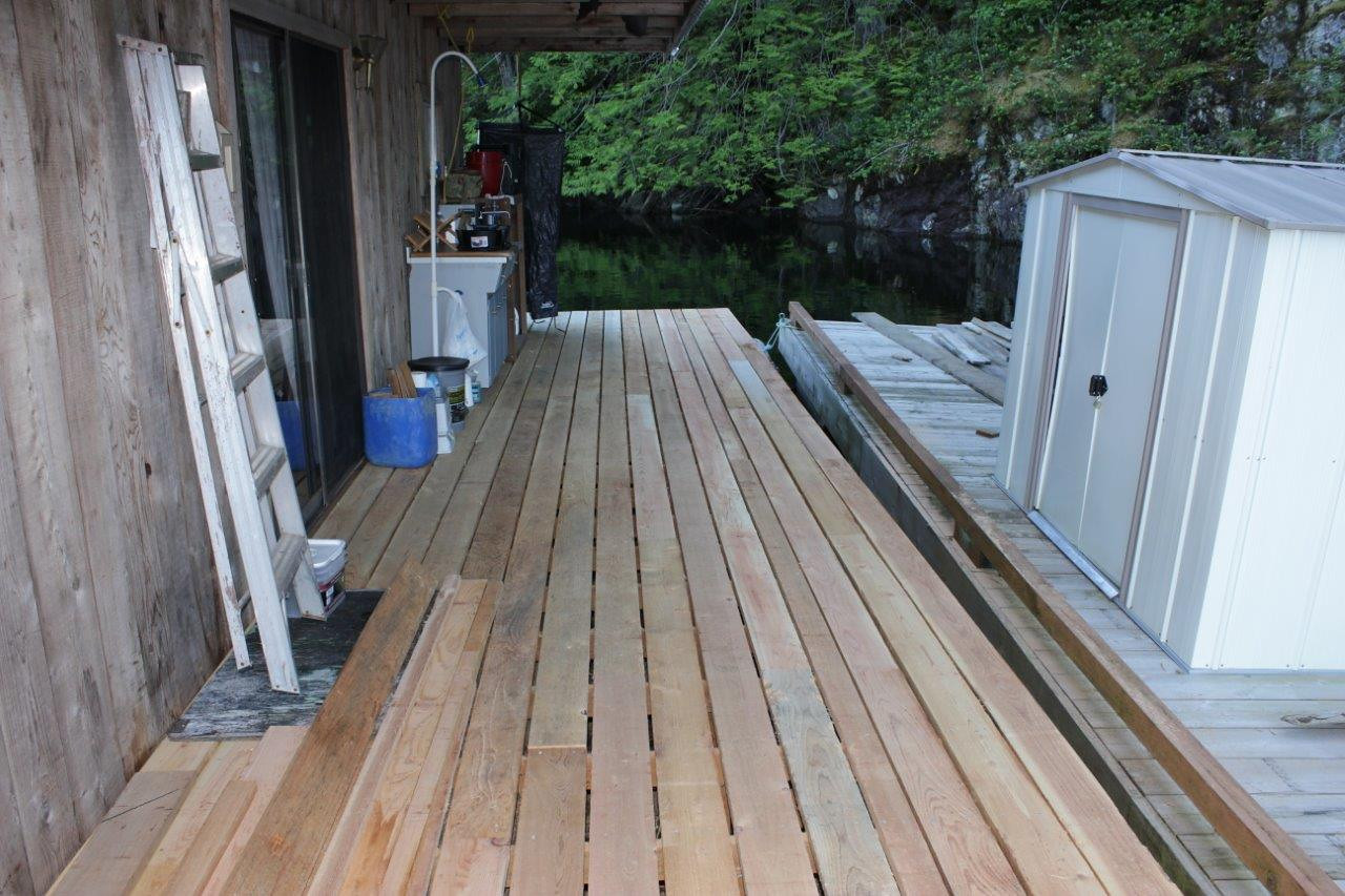 Extended Rear Deck