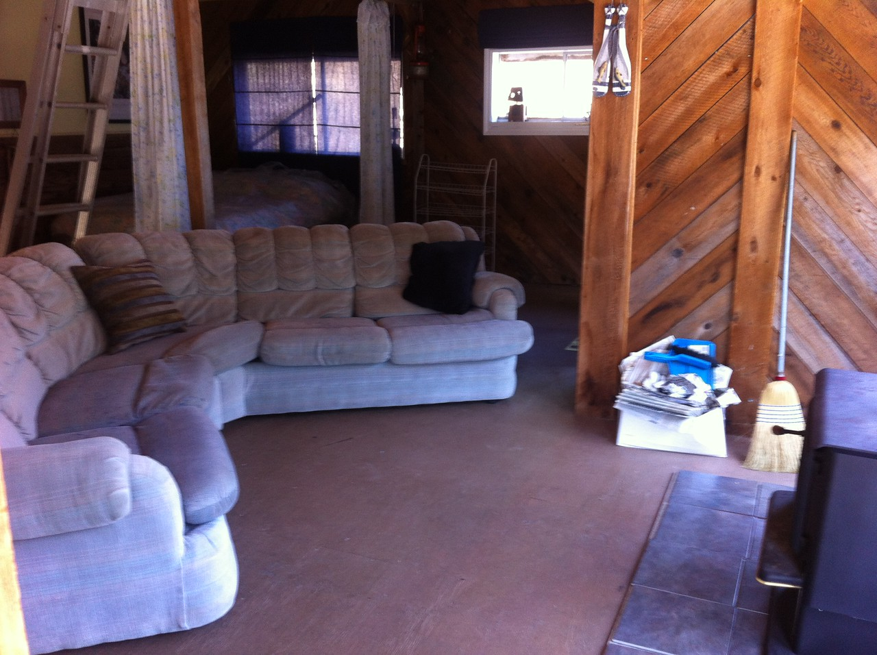 Wood stove and Sectional