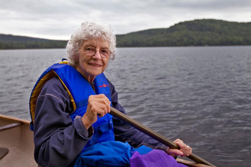 Peggy, Lac à la Perchaude<br /> August 14, 2011