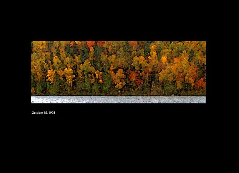 Lac à la Perchaude<br /> State-of-the-art 1 Mega Pixel Kodak<br /> October 15, 1998