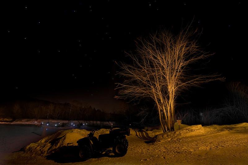 Baluchon under the stars<br /> February 14, 2009