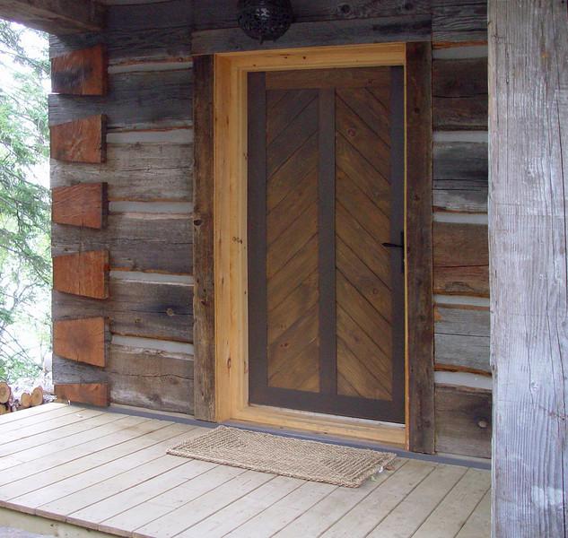 Cabin front door<br /> September 8, 2002