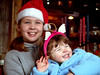 Danièle and Stella<br /> Christmas day, 2004