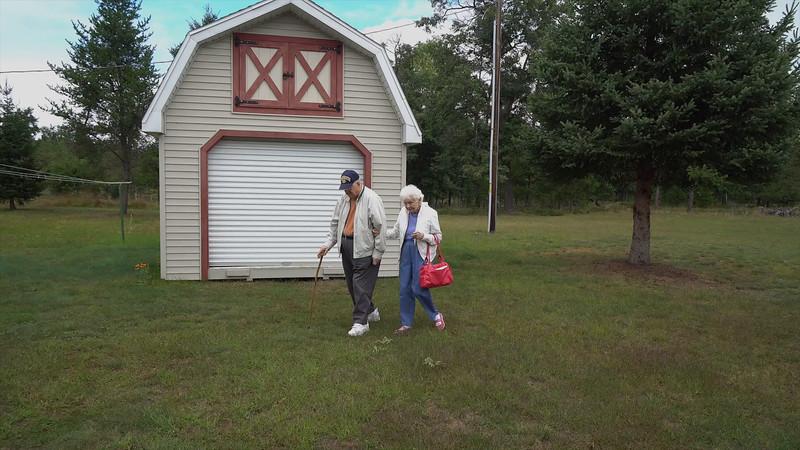 Art & Dodie visit the Cabin