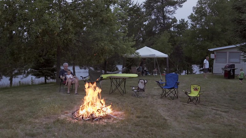 Cabin2018 Campfire and Fireworks