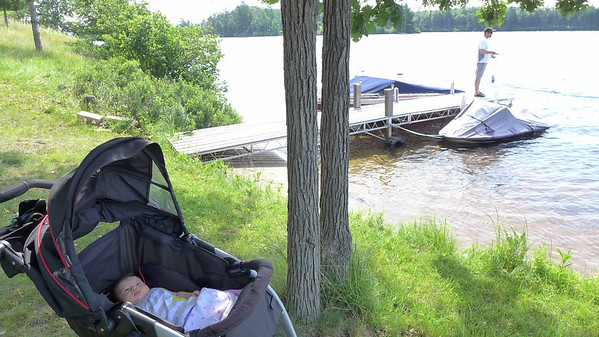 Priella's first year at the cabin