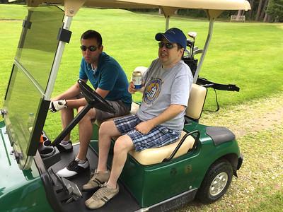 Cabin Golfing