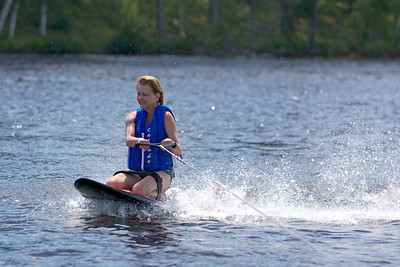 Jan on Kneeboard