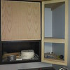 Habitat cabinet with custom cabinet