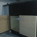 Habitat cabinet used for a vanity