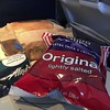 Then lunch on the plane to Cabo.