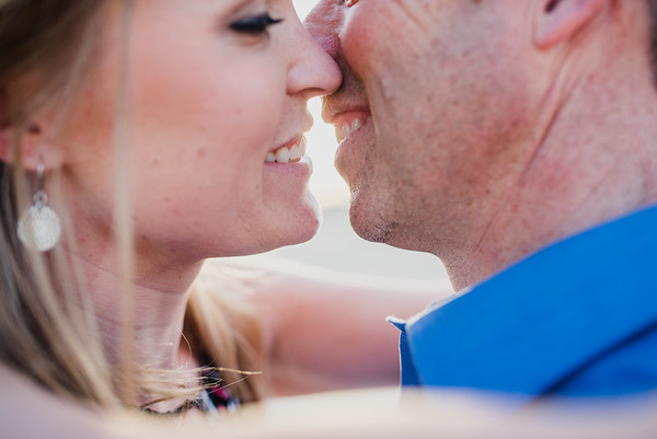 Cabo del Sol Engagement photo session
