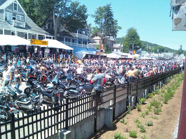 Large Crowd and Good Weather
