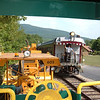 Local passes caboose 51 on a hot July 15th 2012 day.