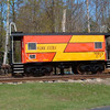 Fresh out of The Plymouth And Lincoln Railroad paint shops is MBTX C-2 a worktrain caboose soon to be used on the MBCR in the Boston area.