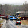 Campton, NH: Passes Covered Bridge In Campton On A Slick Day photo by George Kenson