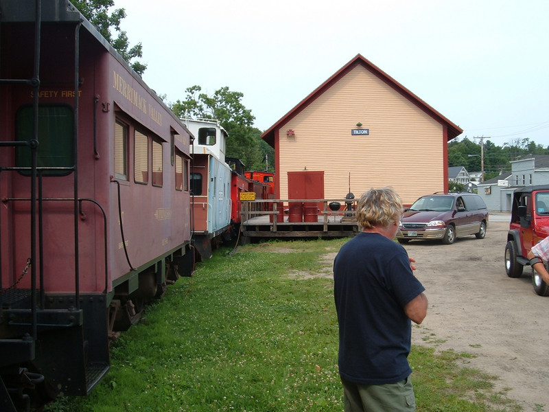 <strong>Caboose Park In Tilton:</strong> Northfield Freight House