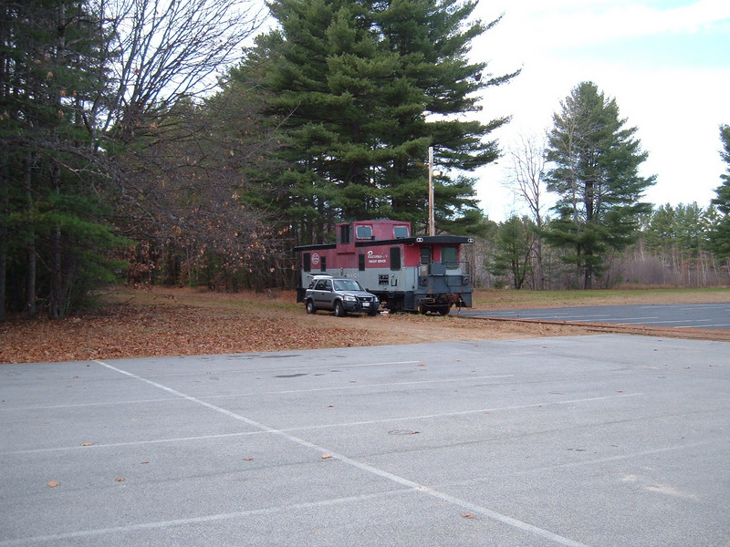 "Near Tilton, NH: Moved from Concord; awaiting move up to Lincoln  <strong>See more in: <A HREF=""/Caboose-Trains-and-Our-Caboose/Rutland-51-Our-Caboose/Moving-the-Caboose/8472815_gaxUM"">Moving the Caboose</A></strong>"
