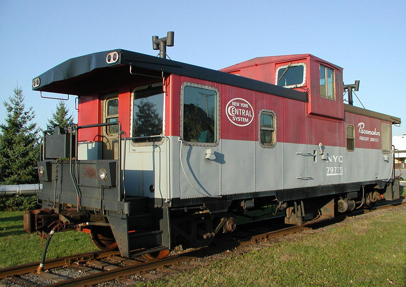 Original Colors -- As Purchased: CN 79775 pictured at the Adirondack Scenic Railroad in Utica, NY