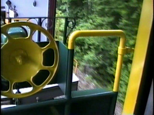 First ride in finished caboose - deadhead move