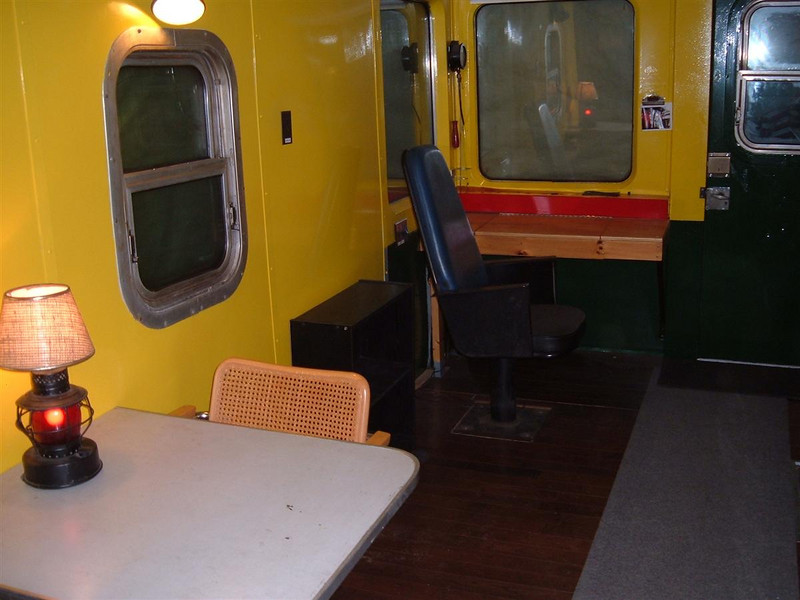 Southend Conductors Desk: There are two Conductors Desks. One at each end.