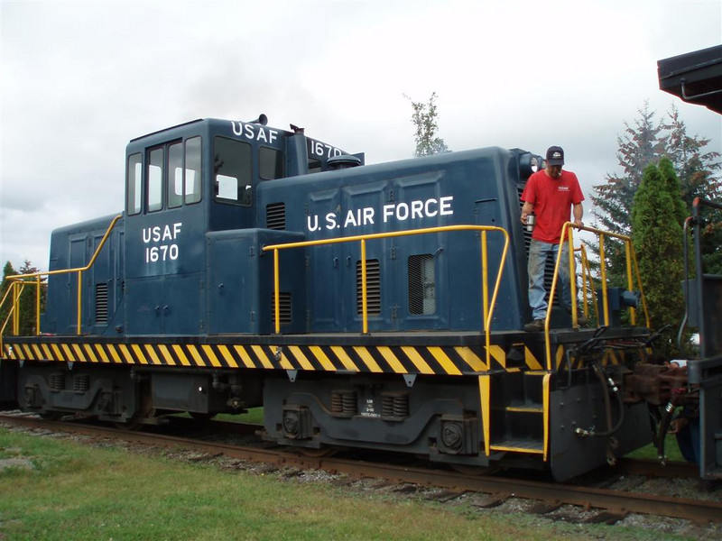 Rob, the manager of the mechanical department at the Adirondack Scenic Railroad, has been invaluable in getting the caboose ready to move.