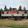 At the engine house in Rome NY: Adirondack Scenic Railroad