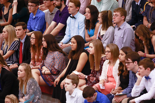 Cabot HS National Honor Society Induction Ceremony, 3/30/2017
