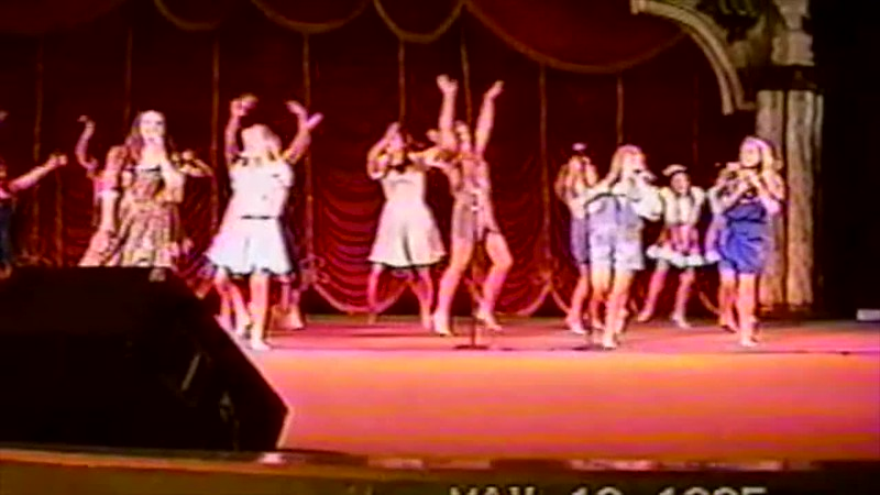 1995 - Entertainment Revue at Busch Gardens 3 of 3