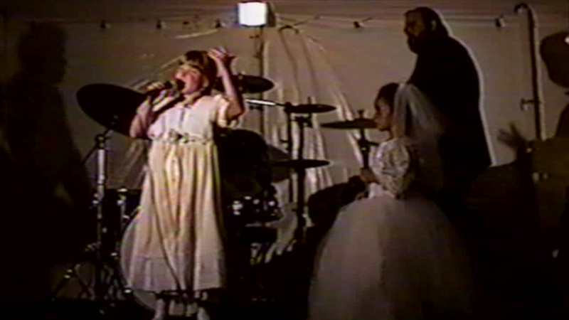 1995 - Thea and Lydia performing wedding