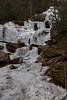 Ice climbers on Catawba Falls