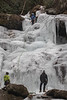 3 of the 4 ice climbers on Catawba Falls