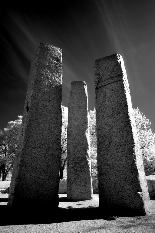 Fuji XE-1 ,XF14mm, R72 IR filter