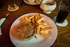 Heidi Pie, Chips and Mushy Peas at The Craig Inn, Grantown-on-Spey