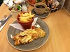 Omelette and Chips at The Retreat, Grassington