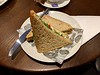 Hummus Sandwich at Tiffin, Bradford