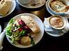 Lunch at the Deli Caffé in Boston Spa
